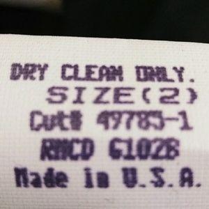 Shelli Segal Laundry Pants - Shelli Segal, Laundry, black rhinestone pants